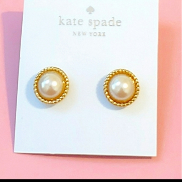 Kate Spade Faux Pearl Earrings